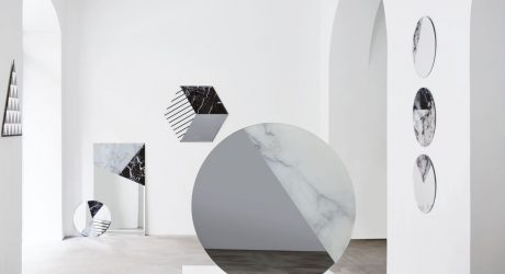 One to One Geometric Mirror Collection by Armando Bruno