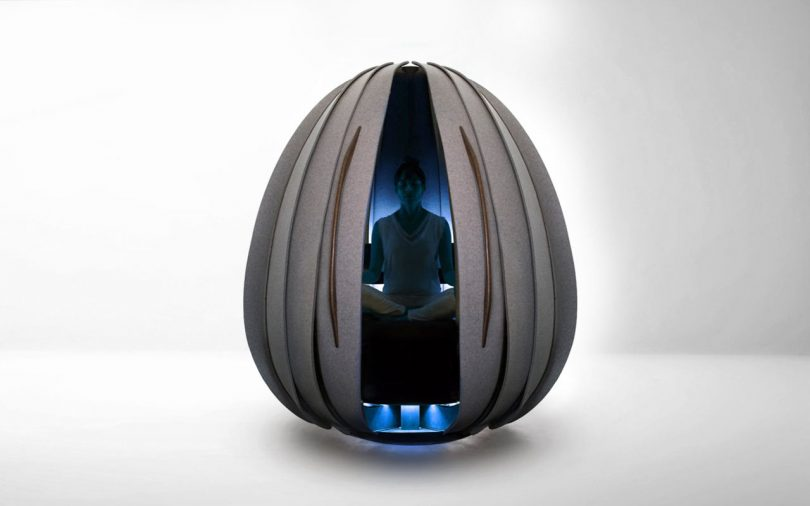 Open Vessel Meditation Pods Give You a Break at the Office