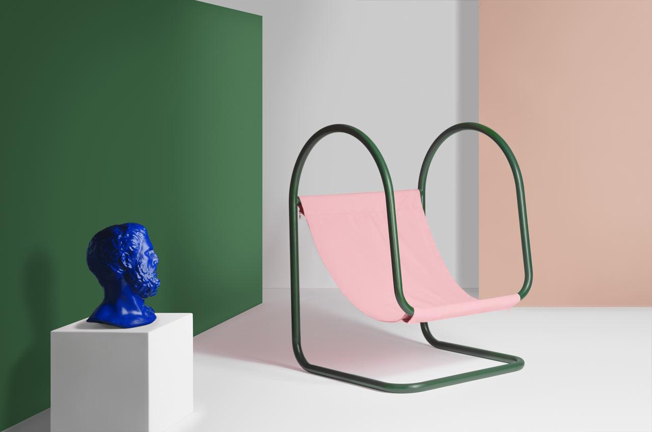 PARA(D): A Sculptural Chair for Relaxing by Nova Obiecta