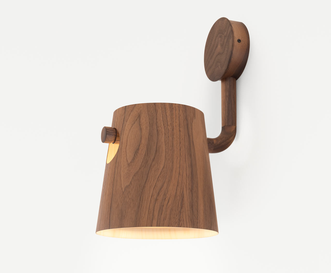 Pierre + Charlotte Launch Bucket Lighting Series Made of Tasmanian Woods
