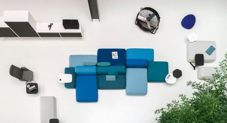 PLUS Modular Seating System by Francesco Rota for Lapalma