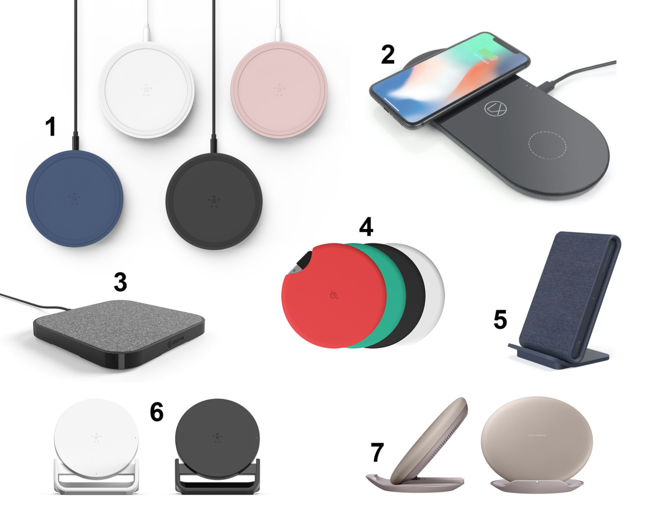 Modern Qi Wireless Chargers Banish Cables From the Desk