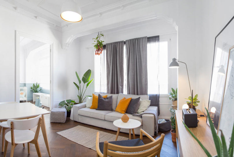 Homelabdesign renovates a 60m2 apartment in valencia - Piso de 60 metros cuadrados ...