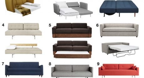 Modern Sofa Beds and Sleeper Sofas Your Guests Won't Hate to Sleep On