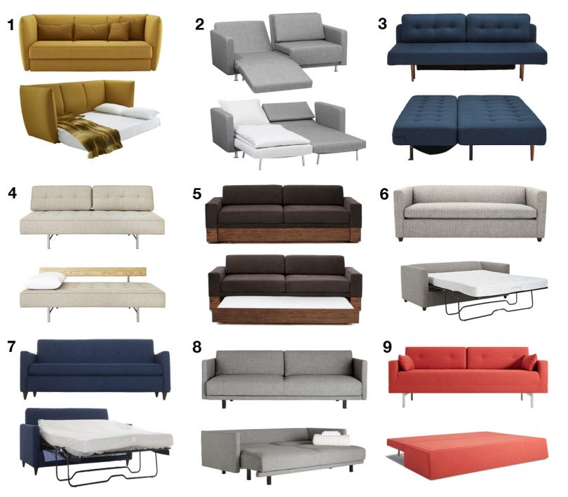 Modern Sofa Beds and Sleeper Sofas Your Guests Won?t Hate to Sleep On