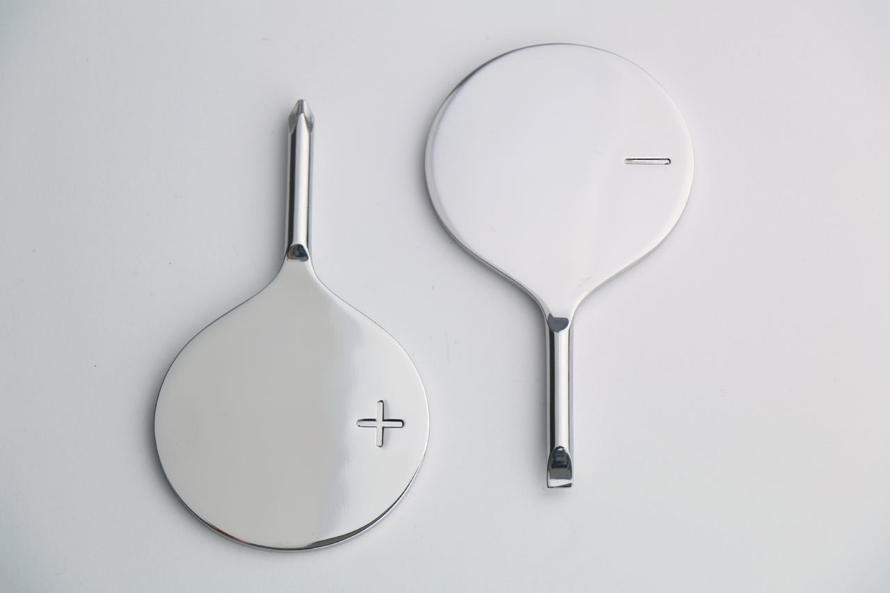 Minimalist PlusMinus Screwdrivers by Selek Design