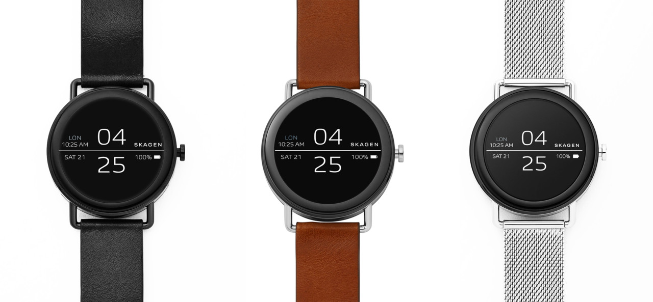 SKAGEN Falster Smartwatch Pairs Modern Style With Android Wear 2.0