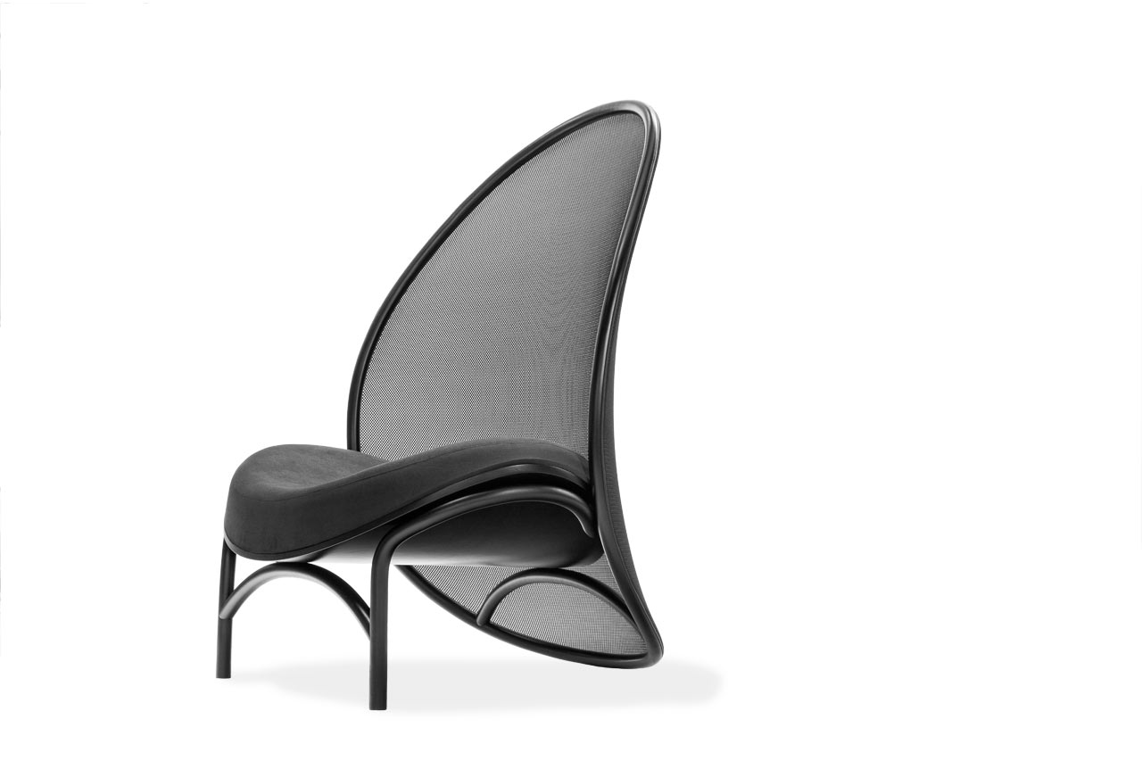 TON Launches the Chips Lounge Chair by Lucie Koldová