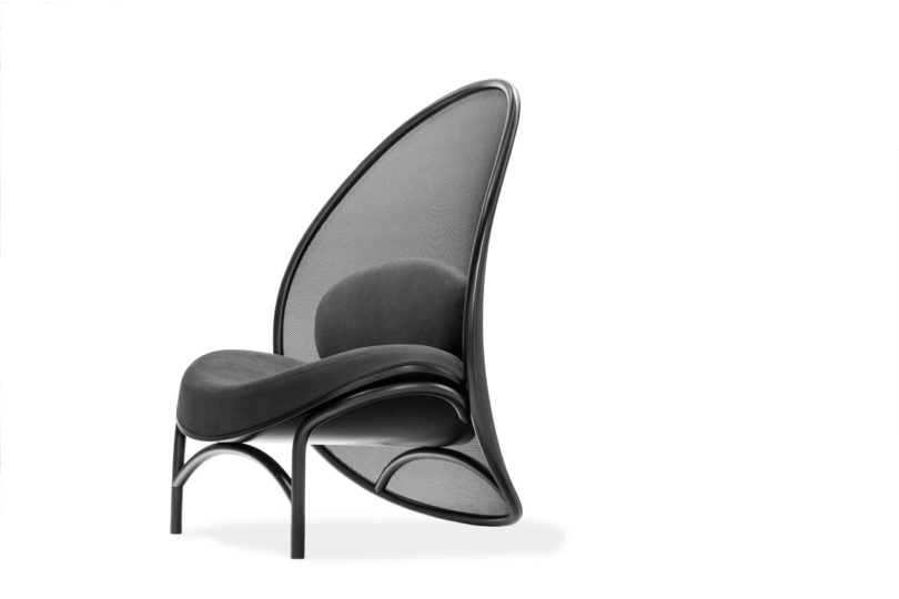 TON Launches the Chips Lounge Chair by Lucie Koldová - Design Milk