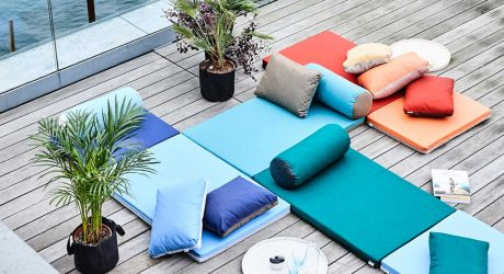 Colorful Outdoor Mattresses That Connect to Each Other