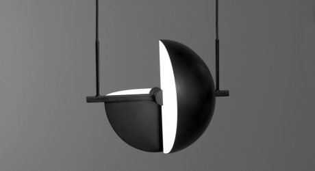 Trapeze Pendant by Jette Scheib for Oblure