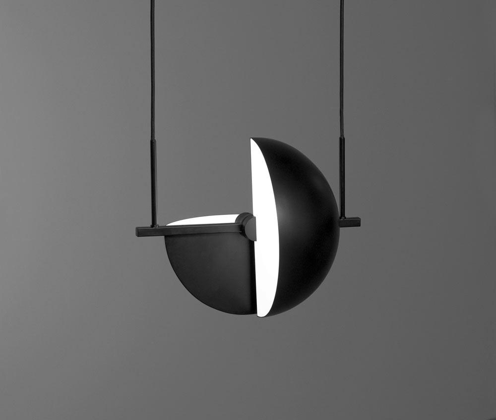 Trapeze Pendant by Jette Scheib for Oblure