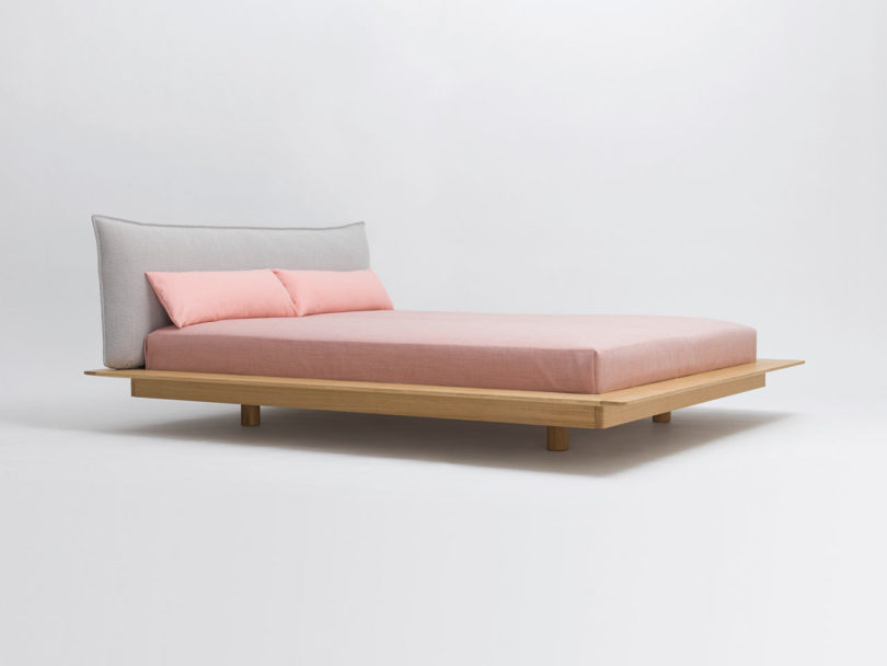 kaschkasch Designs the Floating YOMA Bed for Zeitraum