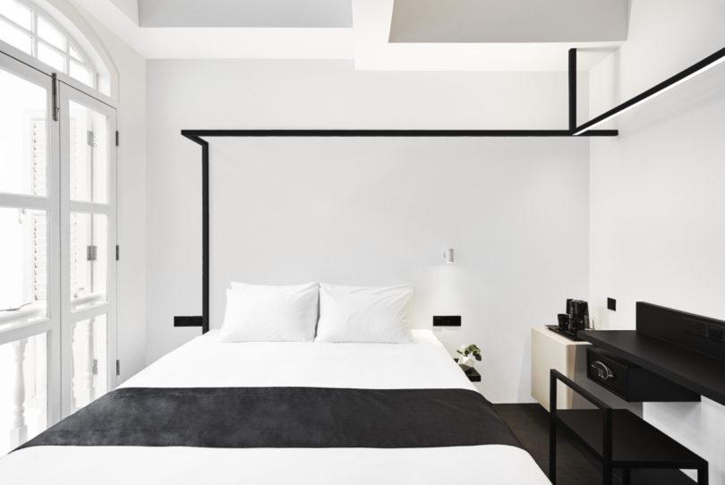Monochromatic and Minimalist: The Hotel Mono in Singapore