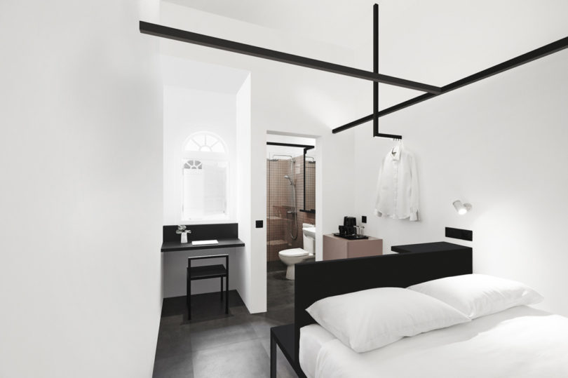 Monochromatic and minimalist the hotel mono in singapore for Minimalist hotel design