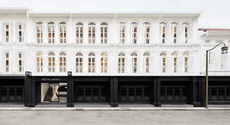 Monochromatic and Minimalist: The Hotel Mono in Singapore