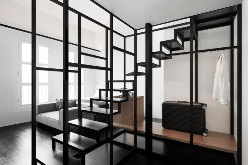 Monochromatic And Minimalist The Hotel Mono In Singapore Design Milk