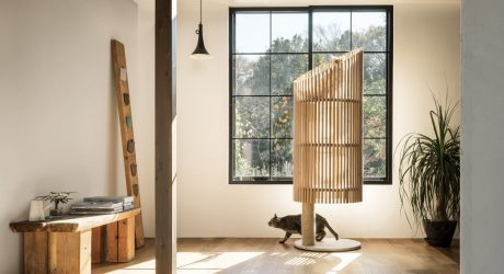 NEKO: A See-Through Modern Cat Tree by RINN