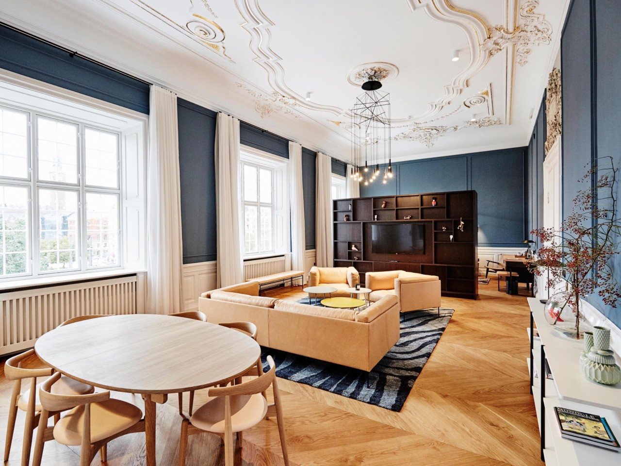 Contemporary design meets classic design at the nobis for Design hotel copenhagen