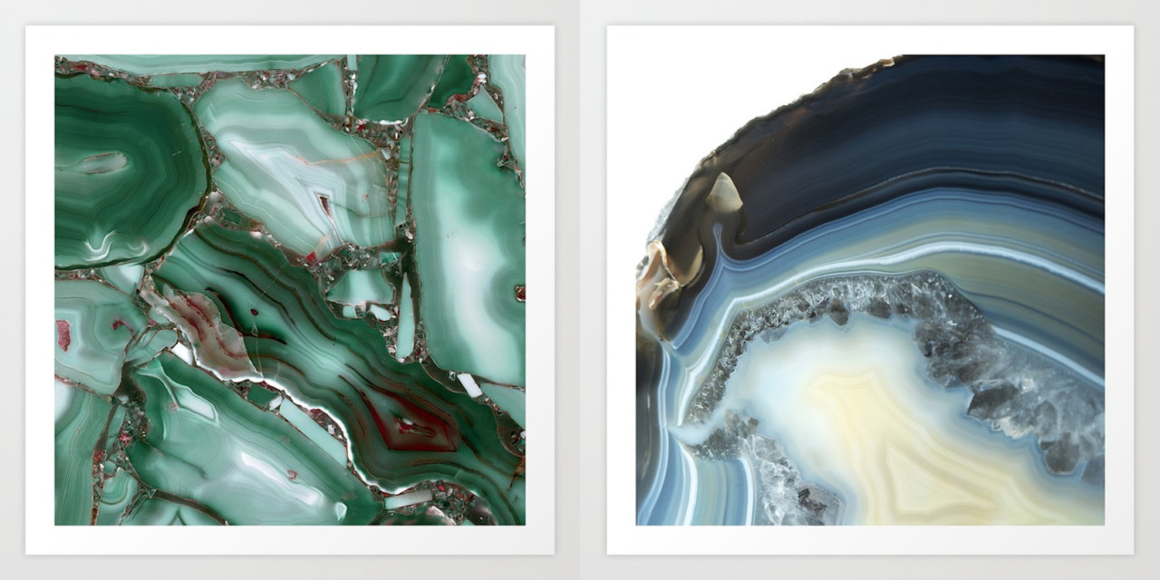 Fresh From The Dairy: Agates and Crystals