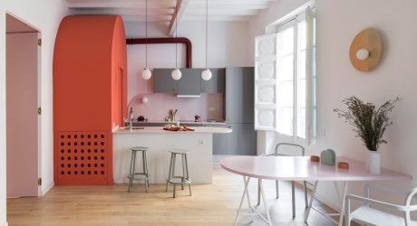 A Colorful, Vibrant Apartment in Barcelona by CaSA