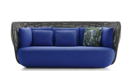Woven Outdoor Furniture by Doshi Levien for B&B Italia