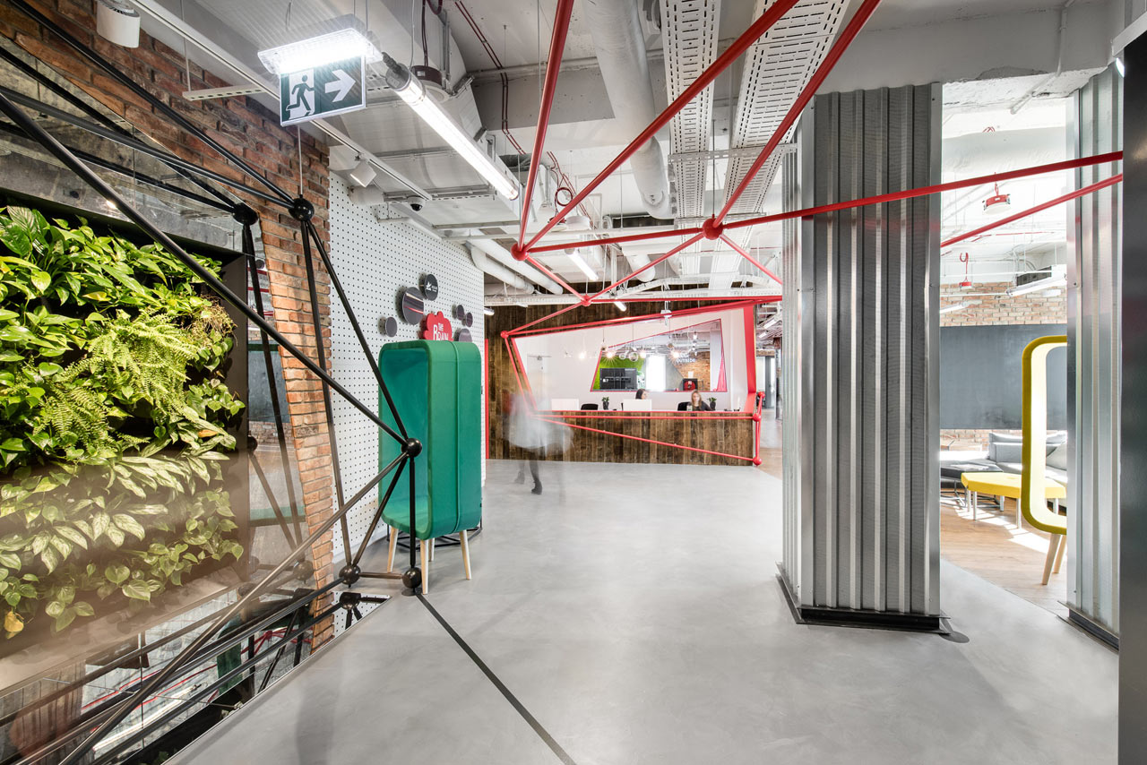 The Brain Embassy: An Inspiring Co-Working Space in Warsaw