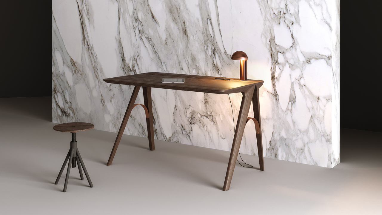The Bridge Desk Was Inspired by Porto, the City of Bridges