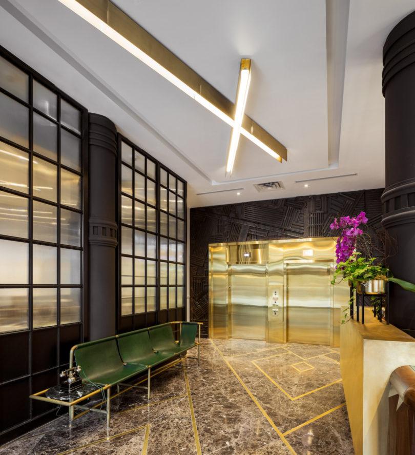 Designagency transforms a soap factory into a boutique for 4 design hotel saccharum