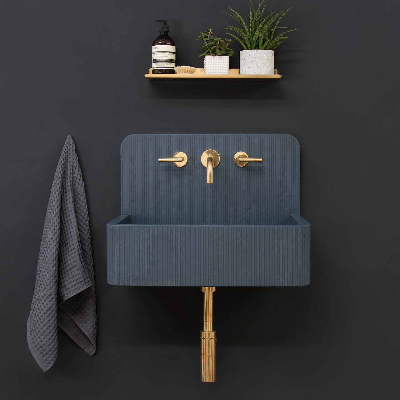 Populair Kast Launches Collection of Patterned Concrete Basins Called Kast  @QD98