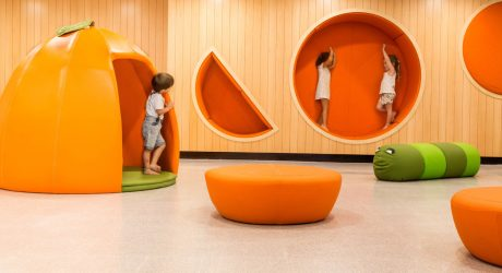 An Imaginative Kindergarten That Will Make Your Kids Love School