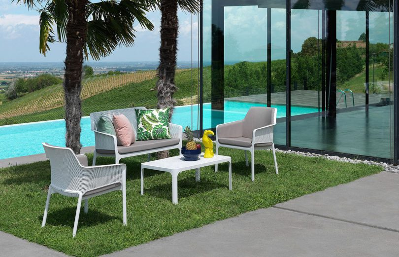 Net Outdoor Furniture by Raffaello Galiotto for Nardi