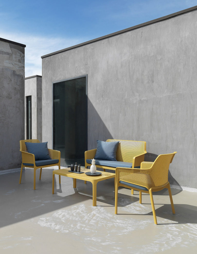 info pour 8566e 3c67e Net Outdoor Furniture by Raffaello Galiotto for Nardi ...