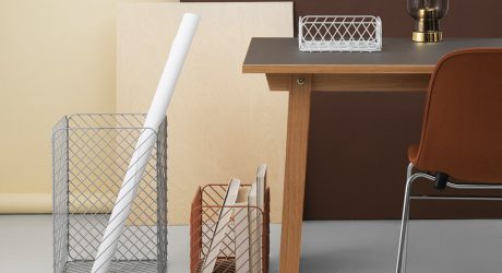 Track Basket: Storage Inspired by Shopping Carts