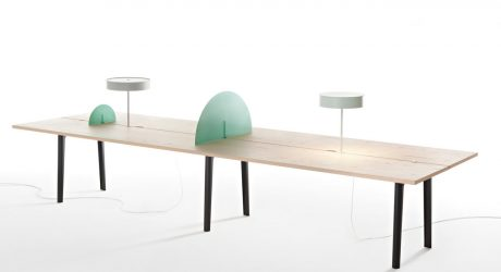 The Offset Table Is Divided in Half for Added Workspace Functionality