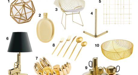 10 Modern Gold Accessories That Will Make You Fall in Love with Gold Again