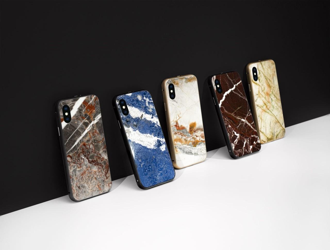 Roxxlyn Encases Your Precious iPhone X in 350 Million Year Old Rock