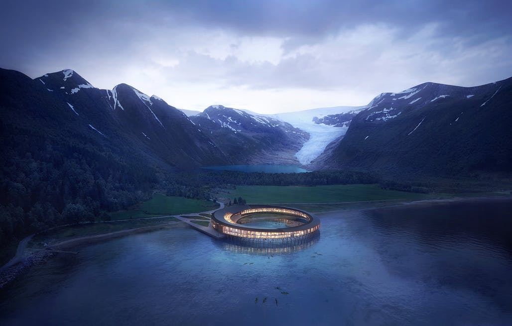 Svart: The Energy Positive Solar Powered Arctic Hotel