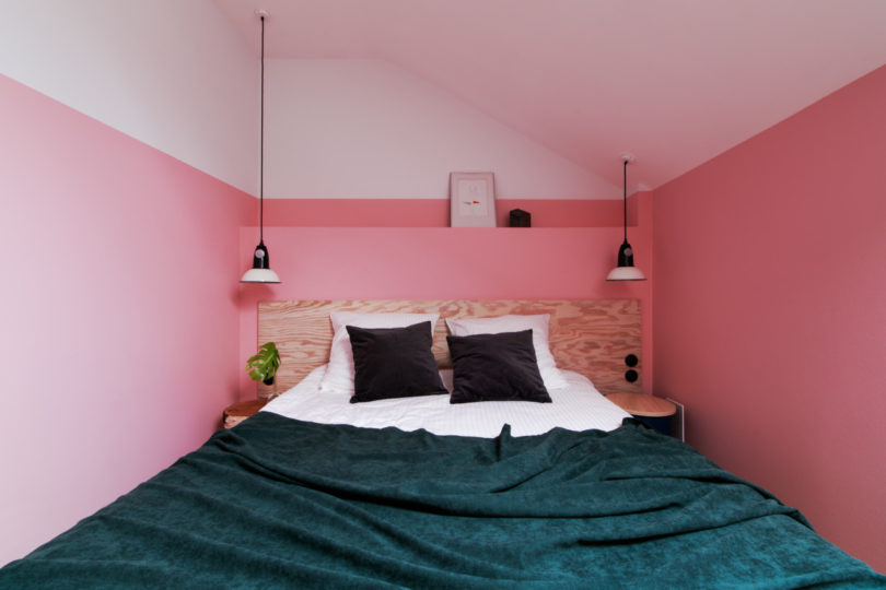 This Boutique Hotel in Moscow Likes to Play With Color - Design Milk