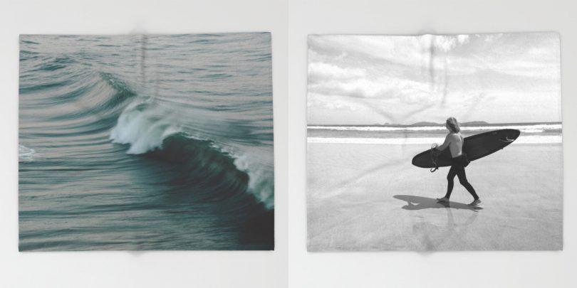 Think Warm, Stay Warm with Society6's Throw Blankets