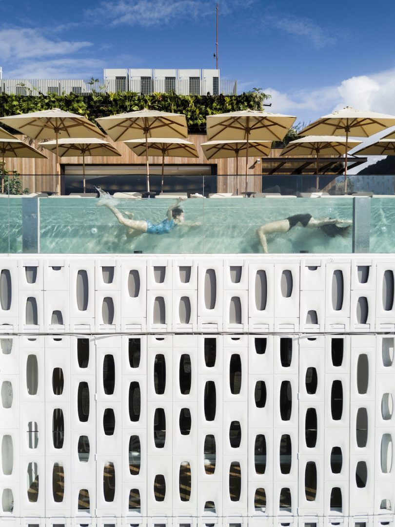 This Modern Hotel in Brazil Has an Unusual Window Treatment