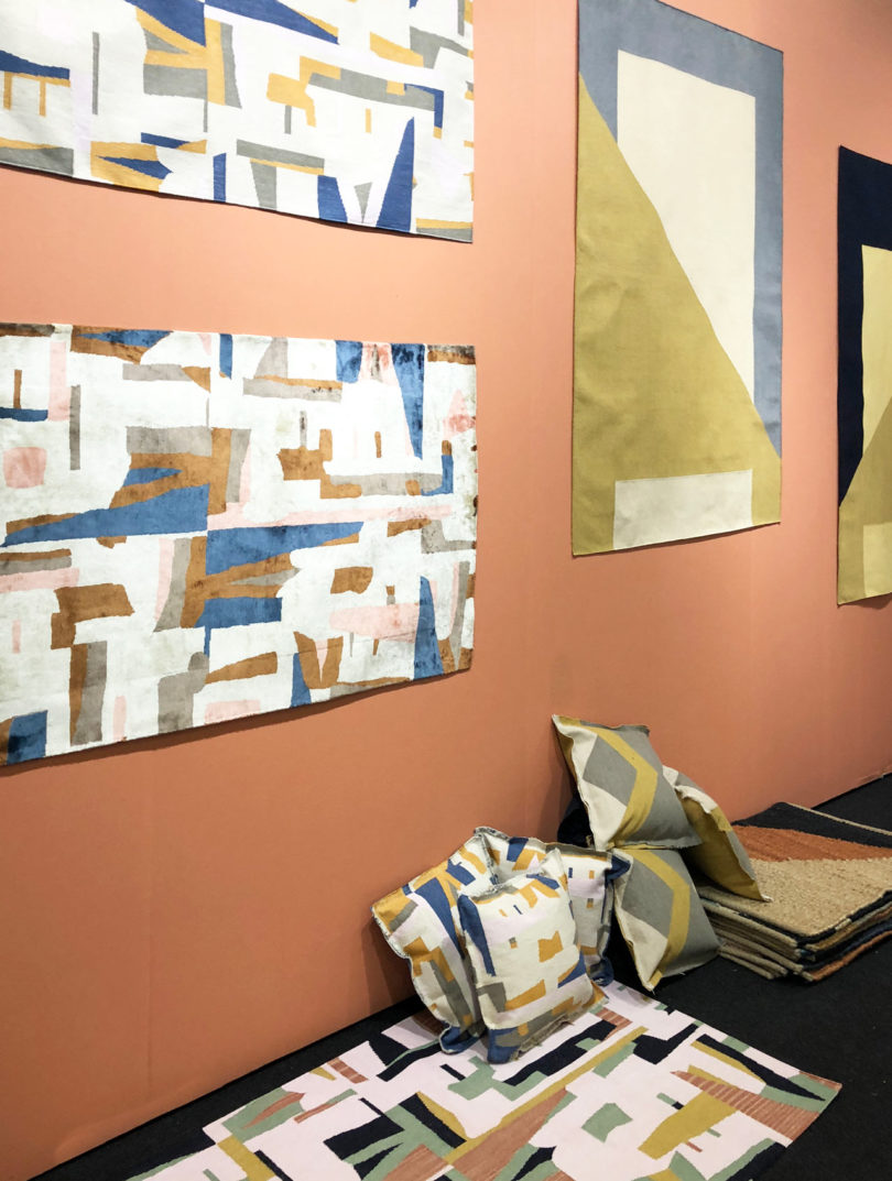 architectural digest home design show 2. Tantuvi\u0027s Founder Arati Rao Works With Ikat Weavers In South India And Dhurrie Of North To Interpret Challenge Traditional Rug Weaving Architectural Digest Home Design Show 2