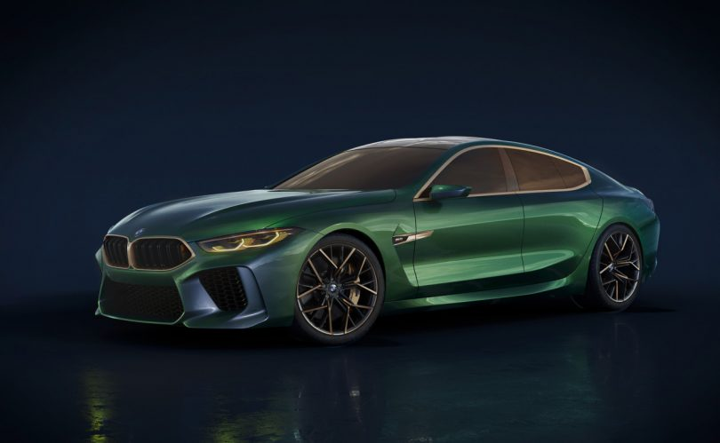 BMW Concept M8 Gran Coupe Is Designed to Polarize