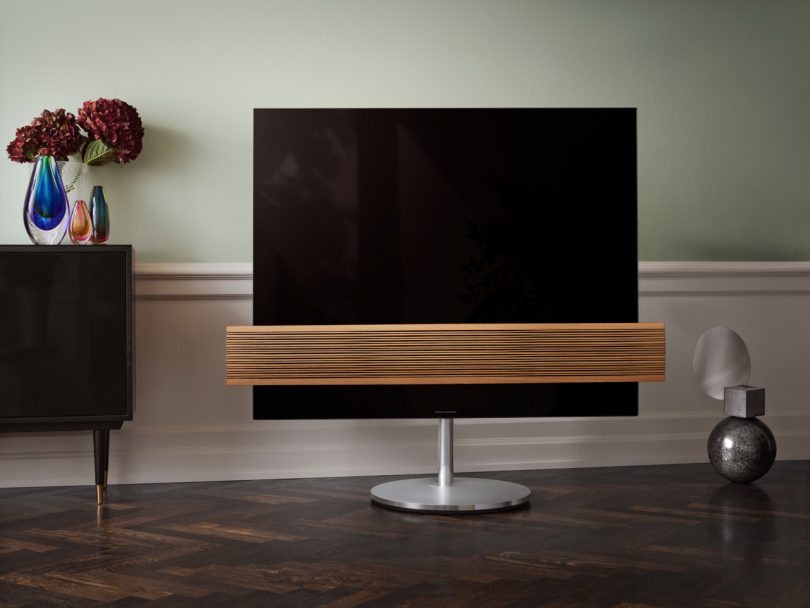Warm Reception: B&O Updates the BeoVision Eclipse With Wood