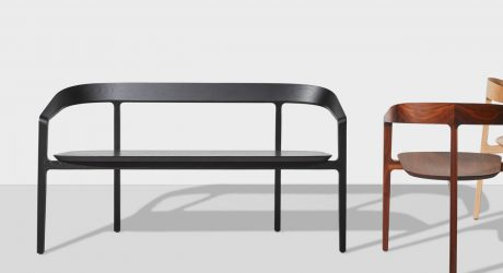 Tom Fereday's DesignByThem Collection Expands with the Bow Bench