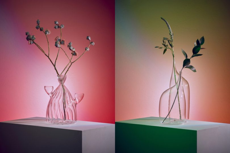 Da Vetro: A Collection of Glass Vessels Inspired by Gestures and Postures