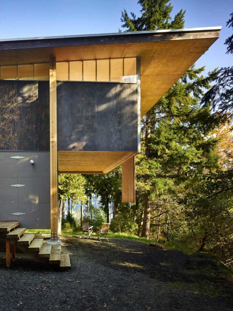 An Artist 39 S Studio In The Woods Of Washington State By