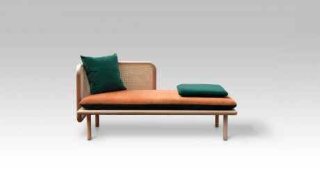 HUM: A Contemporary Sofa Made from Mixed Materials by Muar Diseño