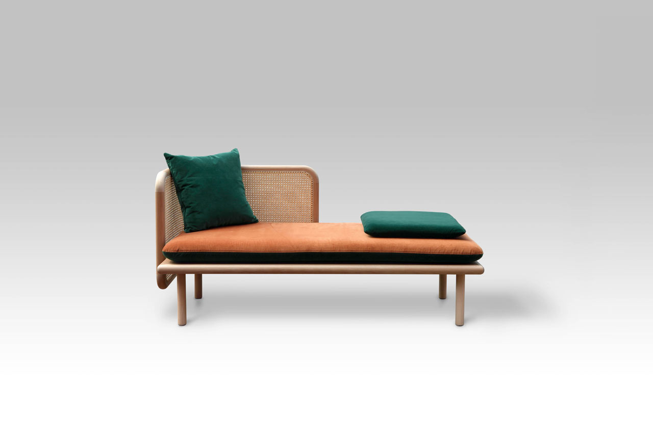 HUM A Contemporary Sofa Made From Mixed Materials By Muar Diseno