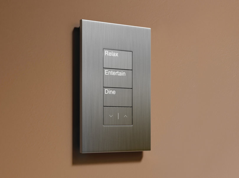 Sophisticated Simplicity Lutron Palladiom Shading System